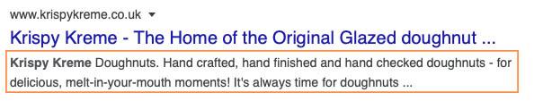 meta description example suki says